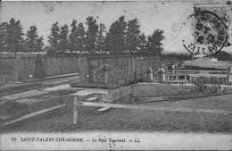 Saint Valéry Sur Somme Le Pont Tournant Bon Etat - Saint Valery Sur Somme