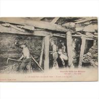 TBJTP1855-LFTD127TPROMI.Tarjeta Postal De.trabajo.frances.LA VIDA DE UN MINERO 4.Haciendo GALERIAS - Mineral