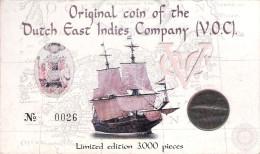 VOC DUIT 1746 400 YEARS JAPAN-THE NETHERLANDS  OFFICIAL ISSUE DUTCH MINT - Indes Néerlandaises