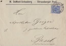 DR Brief EF Minr.48 Strassburg 28.2.91 - Deutschland