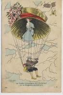 Xavier SAGER : La Fidèle Compagne De L'Aviateur Ou Le Chapeau Parachute - 48 C.M.Malcuit Phot. Edit. - Sager, Xavier
