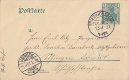 DR Ganzsache KOS Friedrichsdorf (Taunus) 25.11.07