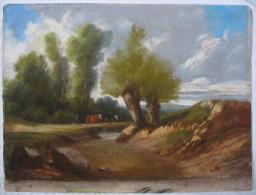 Superbe PASTEL Impressionniste D'époque XIXè - Pastels
