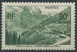 1937 FRANCIA STRADA SUL COLLE DELL'ISERAN MNH ** - EDF024 - Nuevos