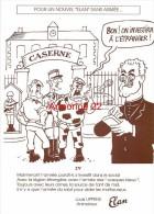 CPM  Pour Un Nouvel Elan Sans Armée Dessin De Cabu - Unclassified