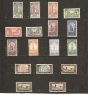 TIMBRES DE 1917  Gravés  N° 63*  à  79* - Unused Stamps
