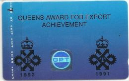 UK - Queen's Award Gala Day '92 Export Achievement '92, 1.000ex, Used - Reino Unido