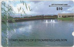 USA - GPT Plessey Stromberg Carlson, 1STCA, 9.900ex, 10$, Used - Estados Unidos