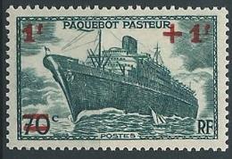 1941 FRANCIA PIROSCAFO PASTEUR MNH ** - EDF035 - Ungebraucht