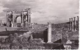 CPA Timgad (Constantine) - Arc De Trajan Et Ensemble (6586) - Konstantinopel