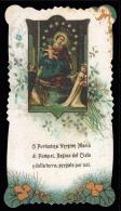 """MADONNA: La Vergine Del Rosario Di Pompei Con I Santi Domenico E Caterina (primo Novecento) - """"Riproduzione"""" - Santini"""