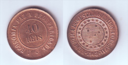 Brazil 40 Reis 1908 - Brazil