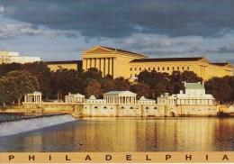 Pennsylvania Philadelphia Art Museum And Waterworks - Philadelphia