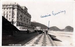 RIO DE JANEIRO 1950?, Avenida Attlantica, Hotel, Fotokarte 1950? - Rio De Janeiro
