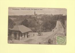 Luxembourg - Entree De La Ville - Petits Defauts Coin Sup Droit - Luxemburgo - Ciudad