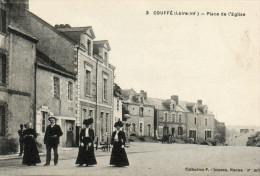 20.  COUFFE - Place D L' Eglise - France
