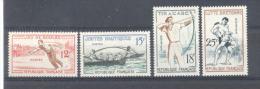 France - N° 1161 à 1164 - Neufs * - C: 6,40 € - France