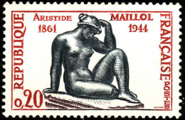 FRANCE  1961  -  Y&T  1281 -   Aristide  Maillol  -  NEUF** - Nuovi