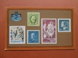 34897 PC:  SWEDEN: Le Rois Suedois De La Dynastie Francaise Bernadotte. POSTMUSEUM, STOCKHOLM 1977. - Suède