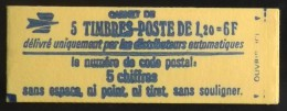 FRANCE CARNET De 5 Timbres 1974 Neufs** N° 1974-C1 -T B E - Carnets