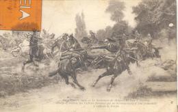 Le Lieutenant De Dragon B, Avec 7 Hommes ....de La Troupe , Bon état ( Voir Scan ) - Guerra 1914-18