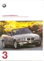 CATALOGUE PUBLICITAIRE Le Cabriolet BMW Série 3 - Publicités