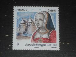 FRANCE YT 4834 OBLITERE - ANNE DE BRETAGNE - - Oblitérés