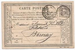 - Lettre - SEINE I9NFERIEURE - ROUEN-ST SEVER Càd T.17 S/TP Sage Type I - 1876 - 1876-1878 Sage (Type I)
