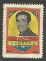 Chiudilettera/cinderella HELENIO  HERRERA - Erinnofilia
