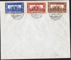 1931  Eposition Agricole Et Industrielle  FDC Non Adressé - Briefe U. Dokumente