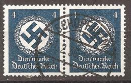 Deutsches Reich 1934 # Dienst - Michel 133/133 O - Service