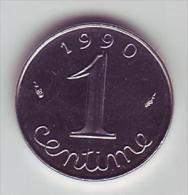 1 Centime Epi - 1990 - SUP/SPL - - Francia