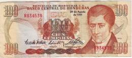 HONDURAS 100 Lempiras 29 De Agosto De 1991 Nice High - Honduras