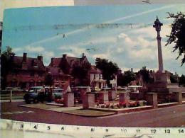 ENGLAND WAR MEMORIAL SND CHURCH GREEN WITNEY SUTO CAR VB1980 STAMP SELO TIMBRE  FRANCOBOLLO  OK   EL7153 - Inghilterra