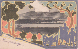 PC Artillery Duel At The River Yalu - 1904 (6638) - China