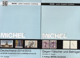 Middle-Europe Catalogue Part 1+ Germany MICHEL 2014 New 110€ Stamps D: AD DR Saar B DDR BRD + A CZ CSR HU FL SK Helvetia - Chronicles & Annuals
