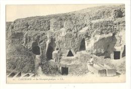 Cp, Tunisie, Carthage, La Nécropole Punique, écrite - Tunesië