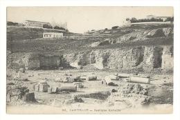 Cp, Tunisie, Carthage,  Basilique Romaine - Tunisie