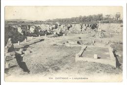 Cp, Tunisie, Carthage, L'Amphithéatre - Tunisie