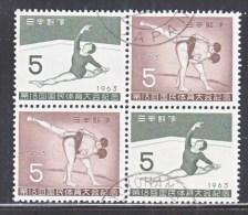 Japan  803a   (o)  SPORTS  SUMO  GYMNASTICS - 1926-89 Emperor Hirohito (Showa Era)