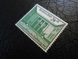 D.R.Mi 743 - 24+76Pf** - Nat. Briefmarkenausstellung - Schwärzlichgrün 1940 - Germany