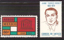1966 1975 México UNESCO Emblem/  JAIME TORRES BODET Director General Of UNESCO From 1948 To 1952 - UNESCO