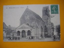 Cpa  OUTARVILLE - 45 - L´église - Loiret  ( Animée ) - Autres Communes