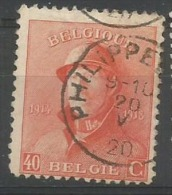 173  Obl  Philippeville  8 - 1919-1920 Behelmter König