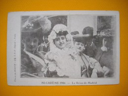 Cpa  Mi Carème 1906 - PARIS - La Reine De Madrid - Cliché DU MATIN - - Beroemde Vrouwen