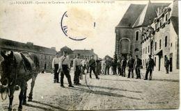 N°38549 -cpa Fougères -quartier De Cavalerie, 10è Escadron Du Train Des équipages- - Kazerne