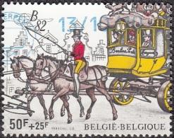 Belgique 1982 COB 2077 O Cote (2016) 5.00 Euro Malle-poste Cachet Rond - Oblitérés