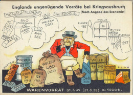 4cp-364 : Englands Ungenügende Vorräte Bei Kriegsausbruch (Nach Angabe Des Economist) - Guerra 1939-45