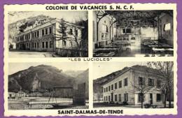 SAINT-DALMAS-DE-TENDE -  Colonie De Vacances S.N.C.F. LES LUCIOLES - France