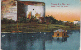 CPA Alexandrie - Rond-Point - Les Parcs - 1914 (6651) - Alexandria